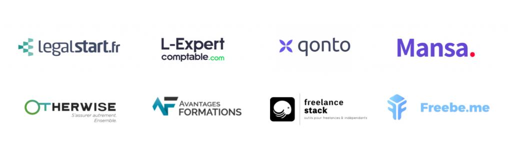 Être freelance informatique : nos partenaires