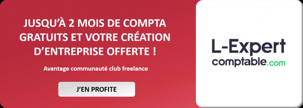 Partenariat Club Freelance & L-Expert-comptable.com